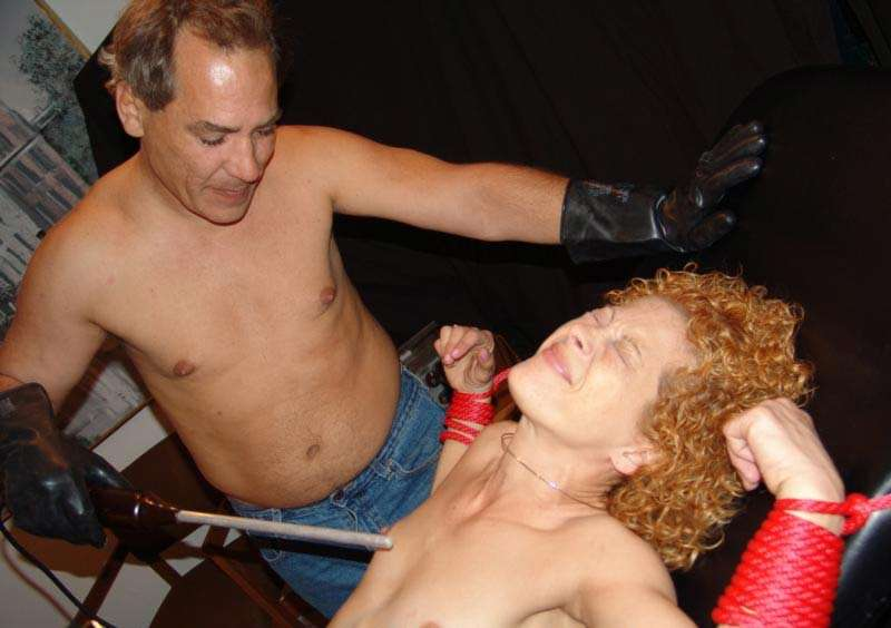 Bdsm tube electro stimulation
