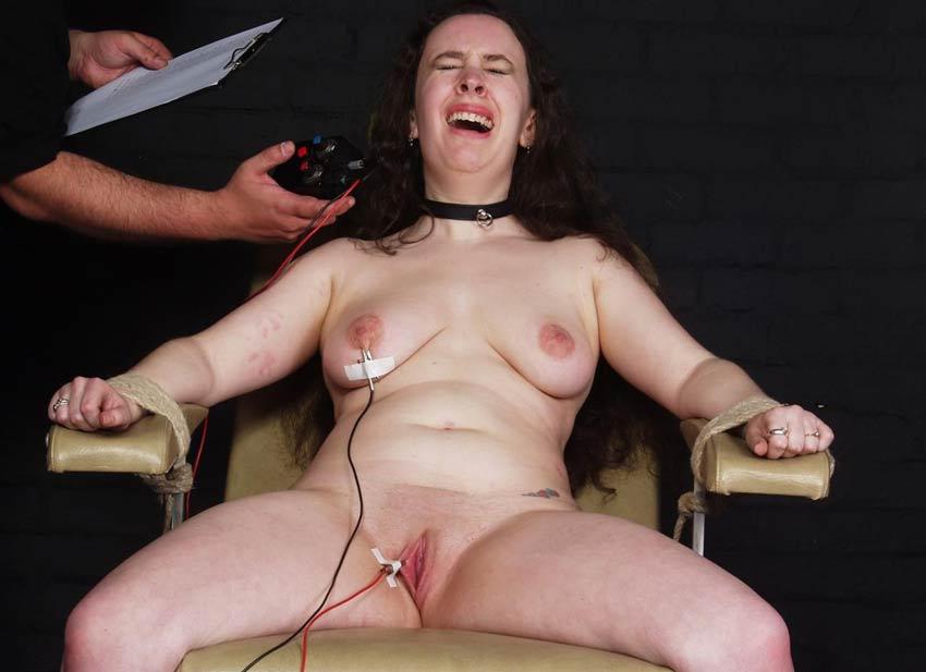 Пытки электричеством женщины порно