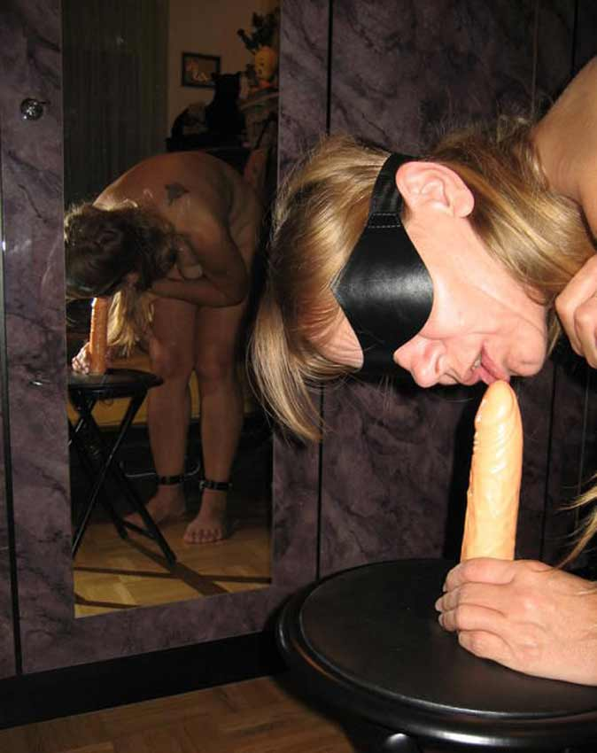 real amateur submissive