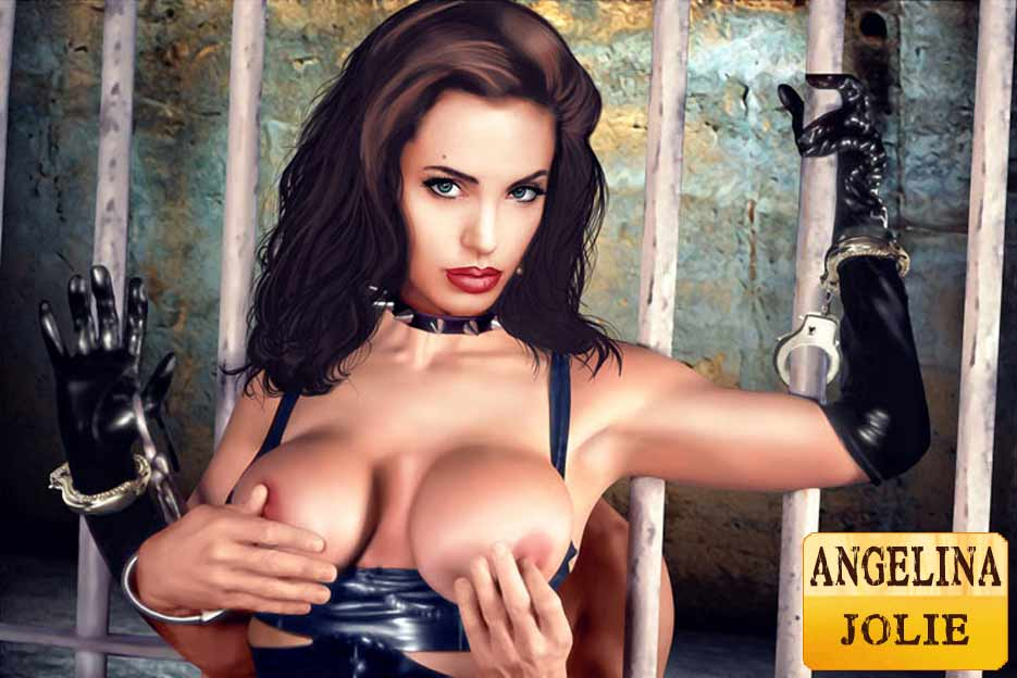 Angelina Jolie And Kristen Bell Tortured In Free Bdsm Pics
