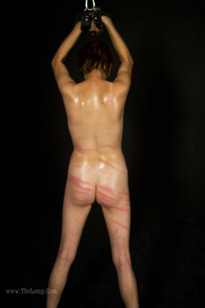 image Lizzy039s single tail whipping pain slut