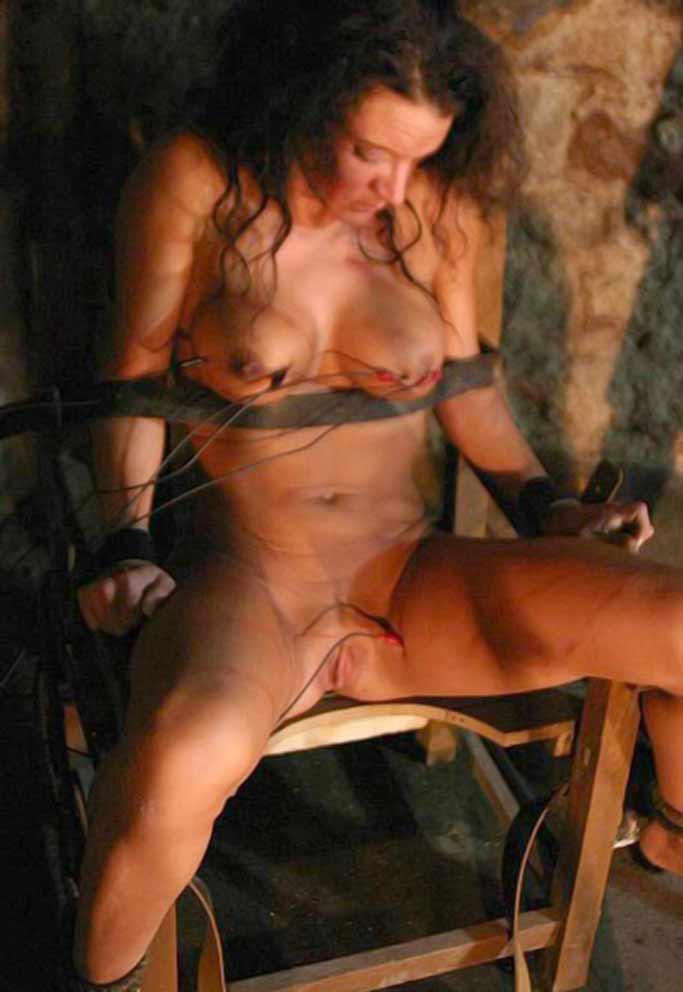 Hot naked brunette tan lines