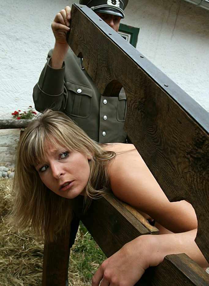 Girl punished for cleaning the horse