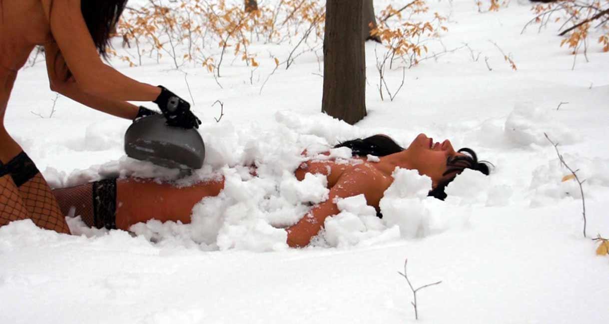 bdsm snow torture