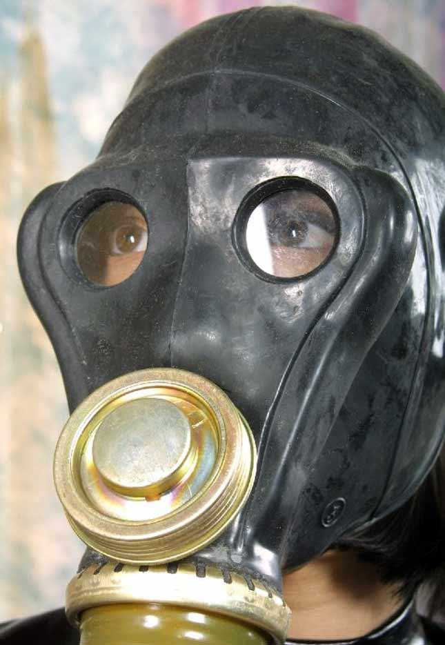 Gas mask bdsm