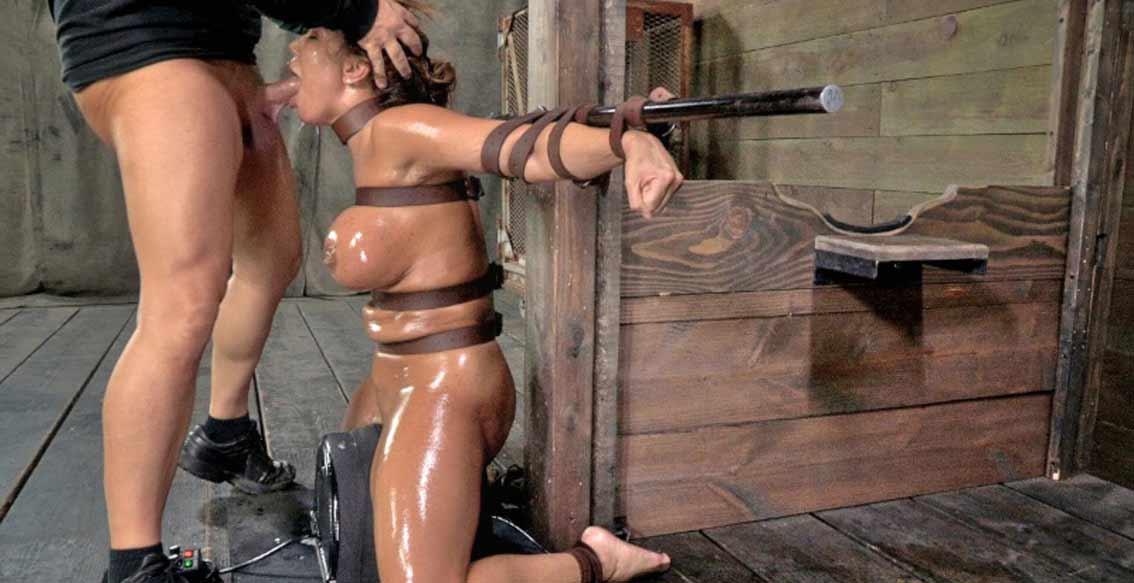 Xlxx machine tied girl think