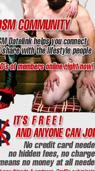 WELCOME TO BDSM DATE LINK