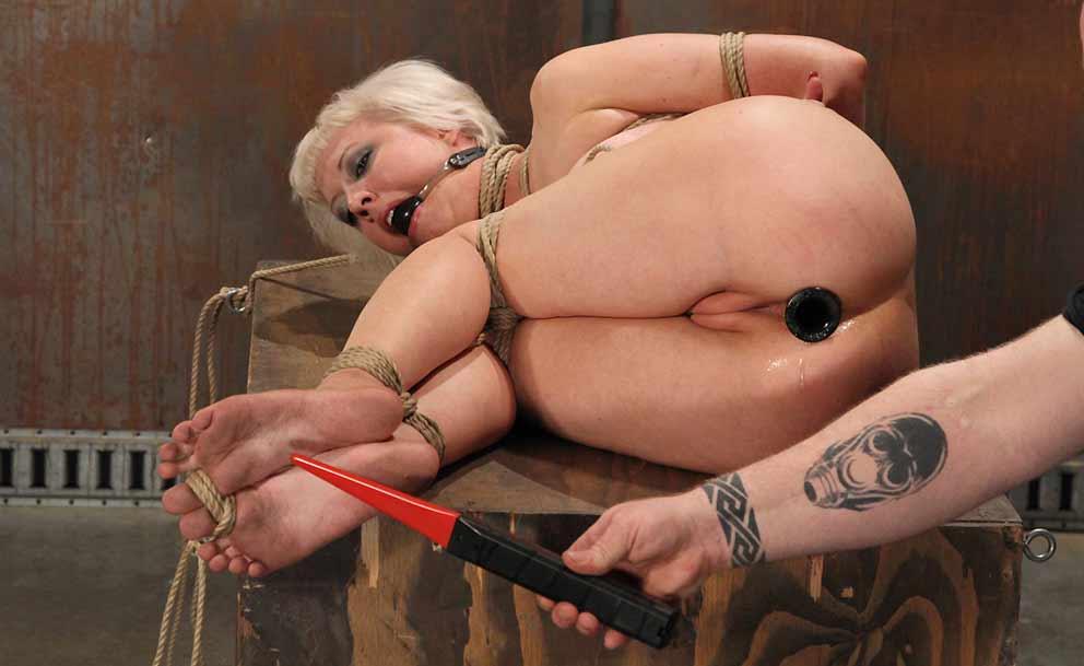 bdsm enema and nipple torture