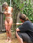 Threesome outdoor.. pic 14